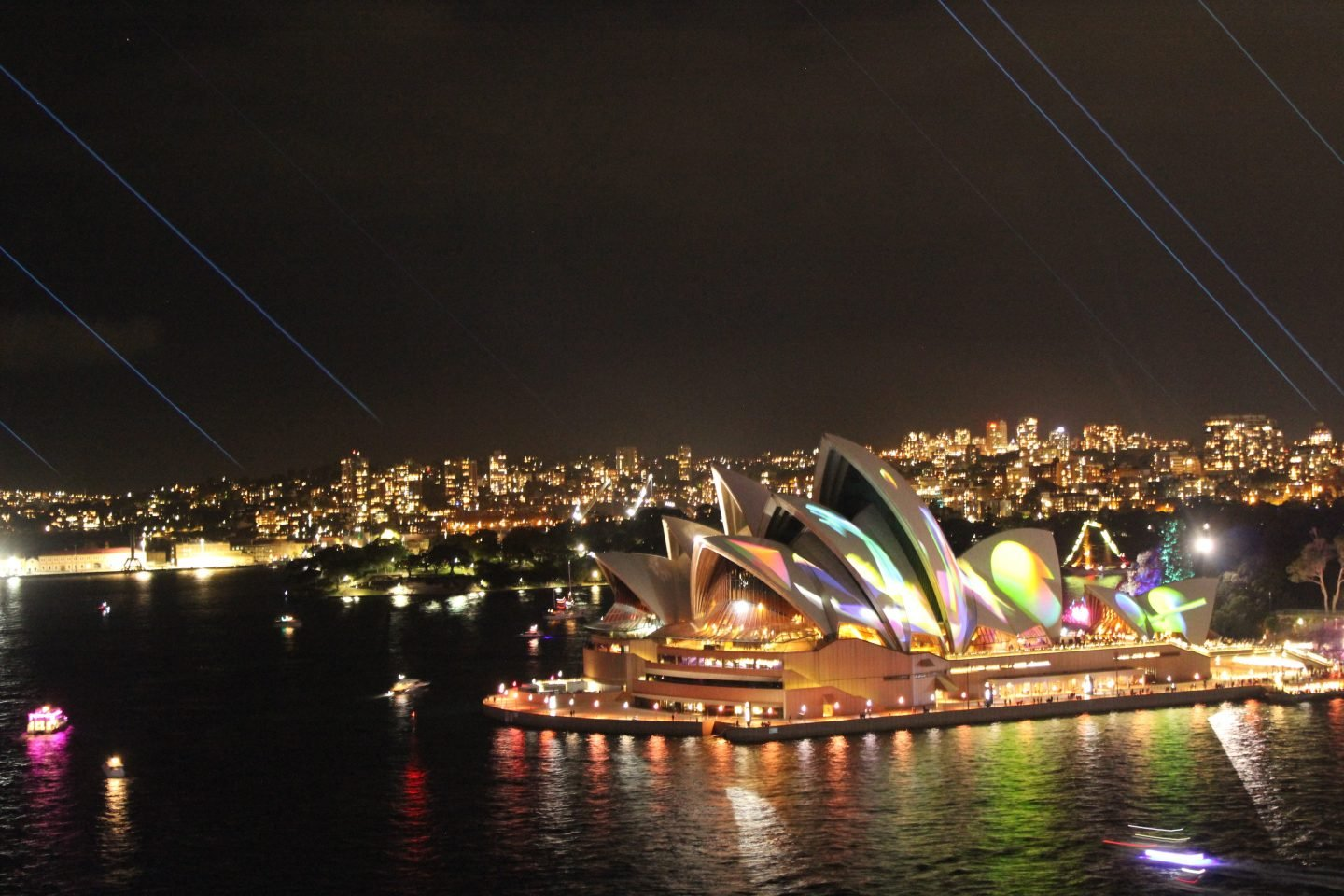 Sydney travel guide - Vivid