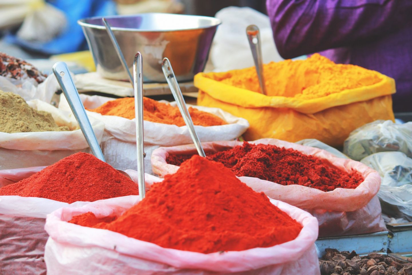 India road trip - Spice market