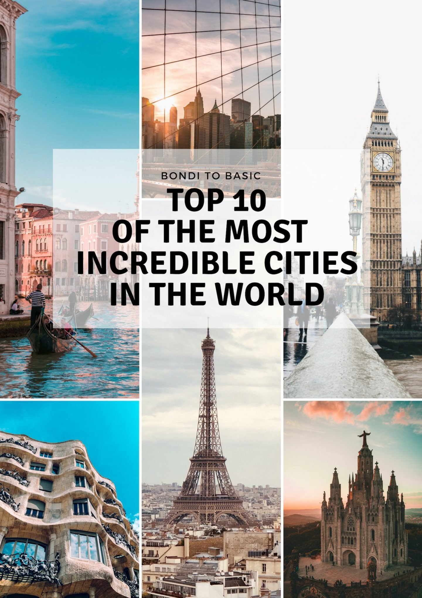Top 10 must incredible cities - City trip around the world