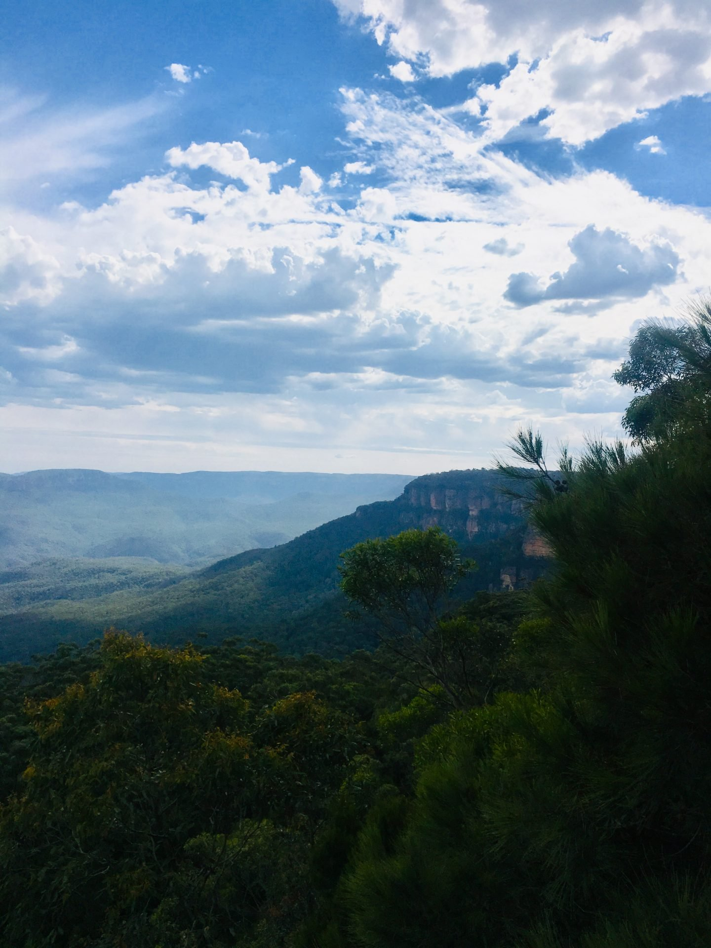 Blue mountains only a 2 hour drive from Sydney