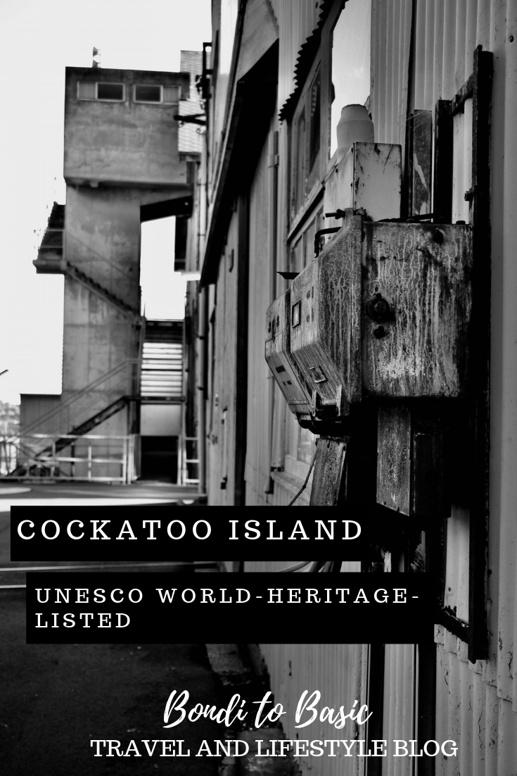 Cockatoo island Sydney | An UNESCO heritage listed Island Just minutes from the CBD
