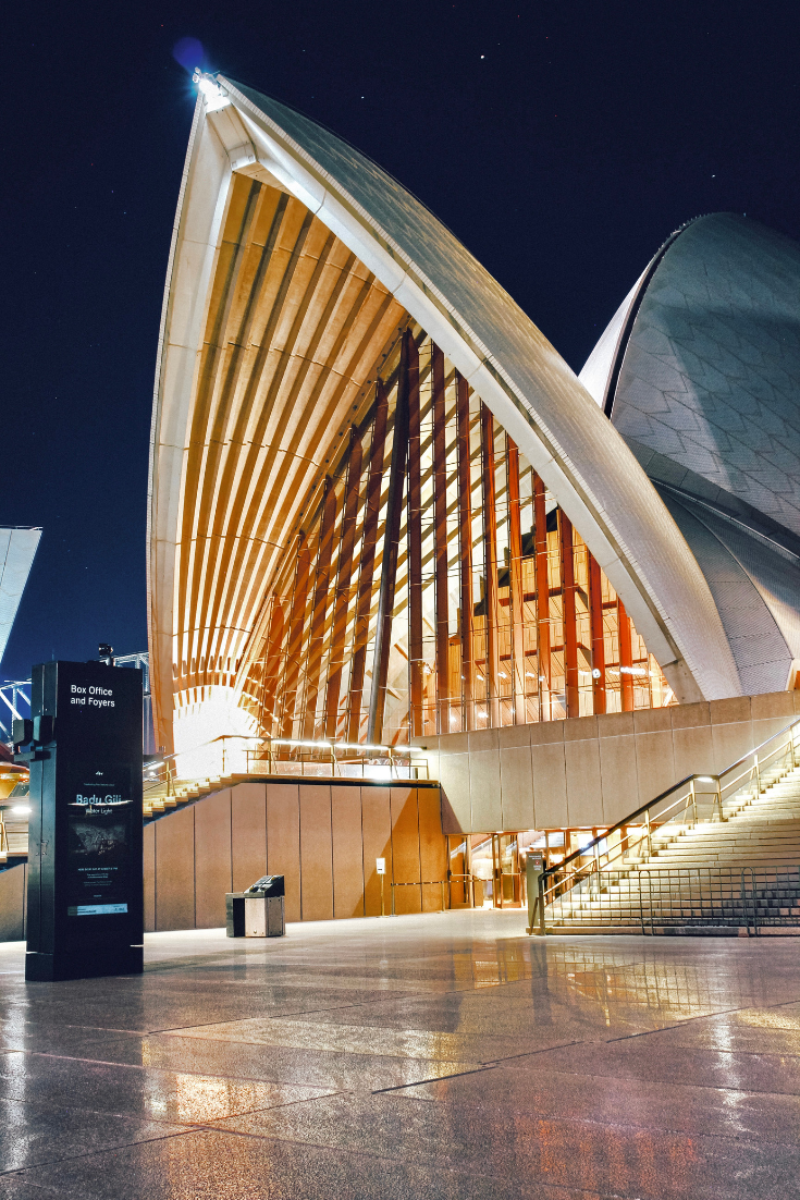 SYDNEY'S ICONIC BUILDING BY NIGHT | THE SYDNEY OPERA HOUSE