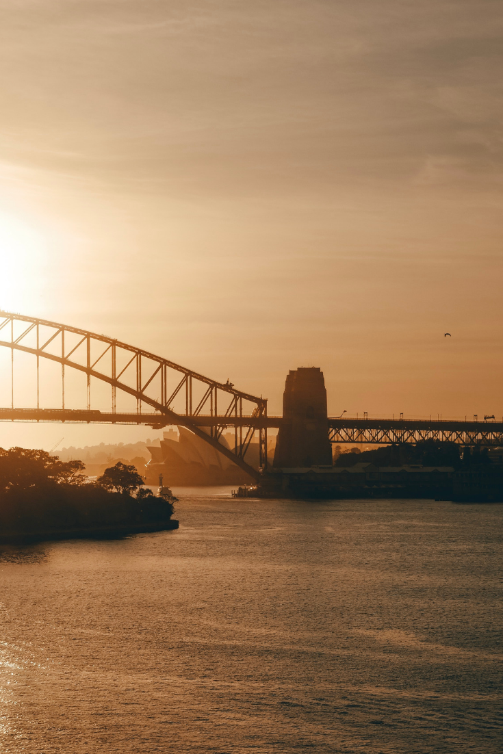 where to see the best sunset in Sydney