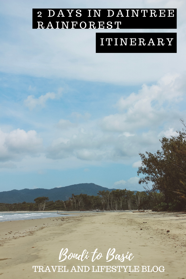2 itinerary for the Daintree rainforest | Where the rainforest meets the ocean