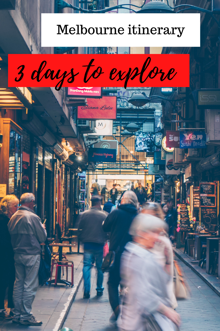 Melbourne 3 day itinerary