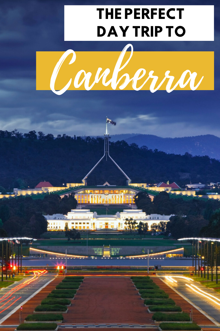 day trip to Canberra from Sydney