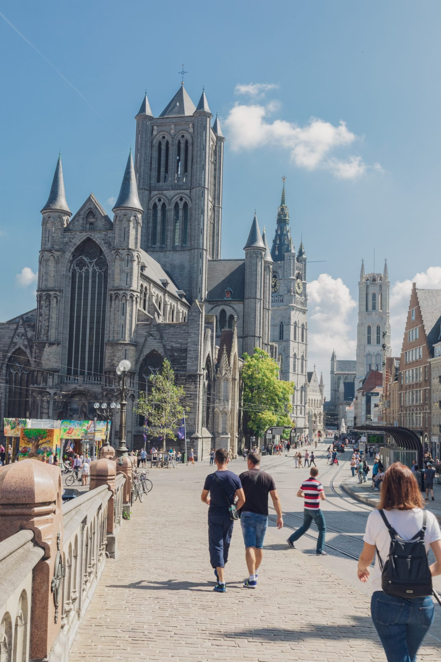 Belfry of Ghent. A must see