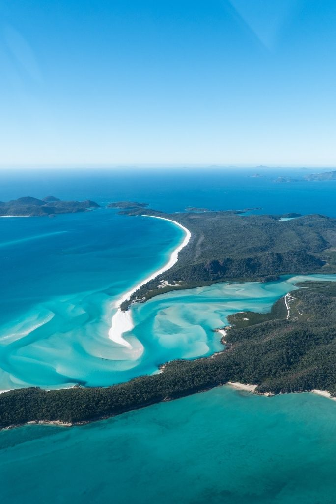 Hill Inlet At the Whitsundays